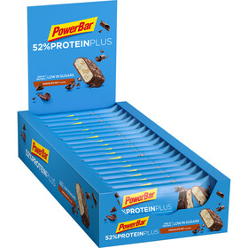 PowerBar ProteinPlus 52% Bar Caja 20x50g, Chocolate Nuts